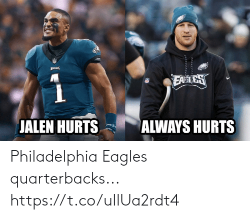 Philadelphia Eagles: Philadelphia Eagles quarterbacks... https://t.co/uIlUa2rdt4
