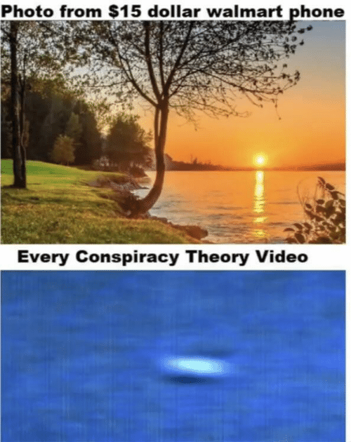 Conspiracy Theory: Photo from $15 dollar walmart phone  Every Conspiracy Theory Video