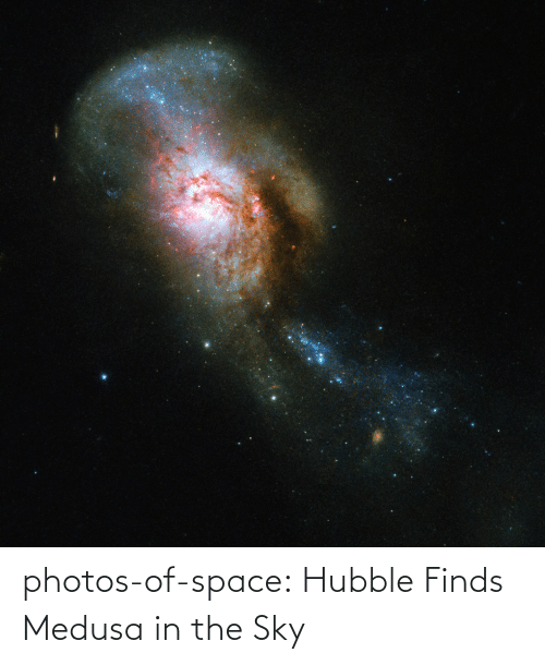 sky: photos-of-space:  Hubble Finds Medusa in the Sky