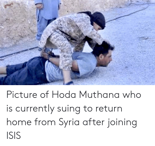 Syria: Picture of Hoda Muthana who is currently suing to return home from Syria after joining ISIS