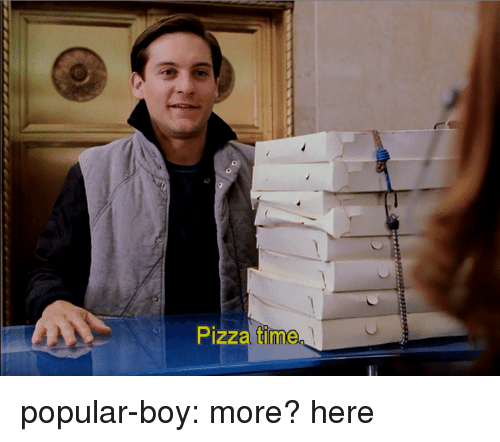 Pizza, Tumblr, and Blog: Pizza time popular-boy:  more?here