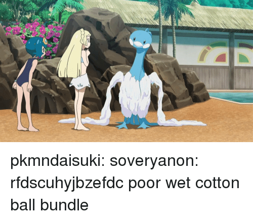 Target, Tumblr, and Blog: pkmndaisuki:  soveryanon: rfdscuhyjbzefdc  poor wet cotton ball bundle