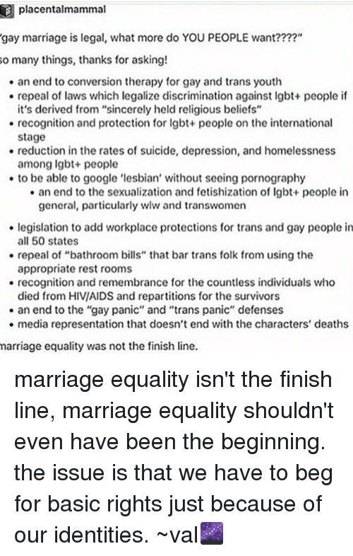 gay marriage shouldnt be legal essay Gay marriage persuasive essay same-sex marriage should be legalized because denying same-sex marriage is a violation of religious freedom in my honest opinion denying same-sex marriage is the ultimate denial of human rights no society has the right to pass a law that denies a person from pure happiness.
