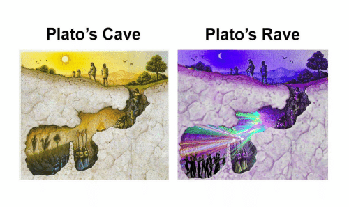 a description of platos myth of the cave and carvers cathedral In allegorical writing characters, actions and setting are used as symbols and they should be interpreted to make the allegorical meaning in the allegory of the cave, plato has given a description of the cave of the cave world.