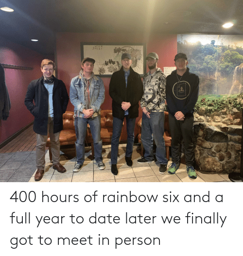 turtles: Please DO NOT  feed our fish and  turtles or py  anything i  ond. T 400 hours of rainbow six and a full year to date later we finally got to meet in person