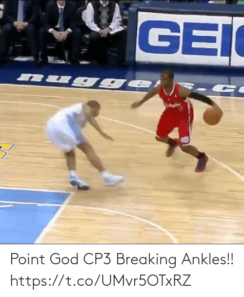 breaking: Point God CP3 Breaking Ankles!! https://t.co/UMvr5OTxRZ