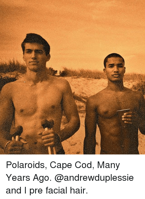 Caping: Polaroids, Cape Cod, Many Years Ago. @andrewduplessie and I pre facial hair.