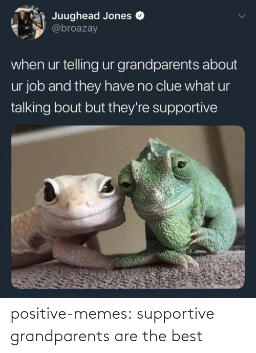 Positive Memes Tumblr: positive-memes:  supportive grandparents are the best