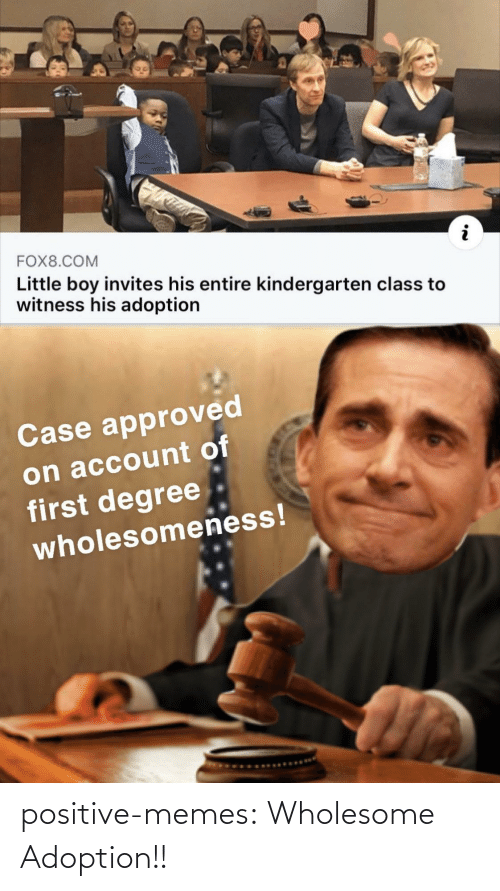 Memes, Tumblr, and Blog: positive-memes:  Wholesome Adoption!!