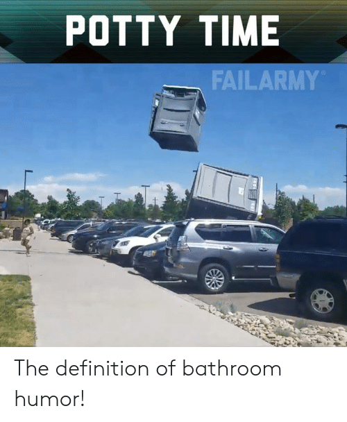 Memes, Definition, and Time: POTTY TIME  FAILARMY The definition of bathroom humor!