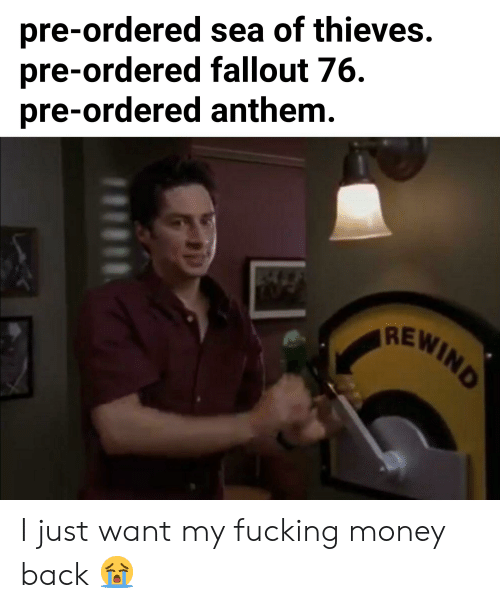 Pre-Ordered Sea of Thieves Pre-Ordered Fallout 76 Pre