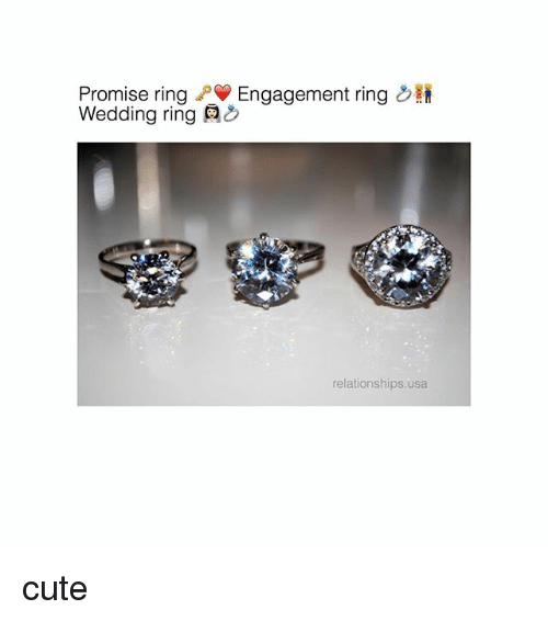 Promise Ring PV Engagement Ring Wedding Ring Relationships Usa Cute