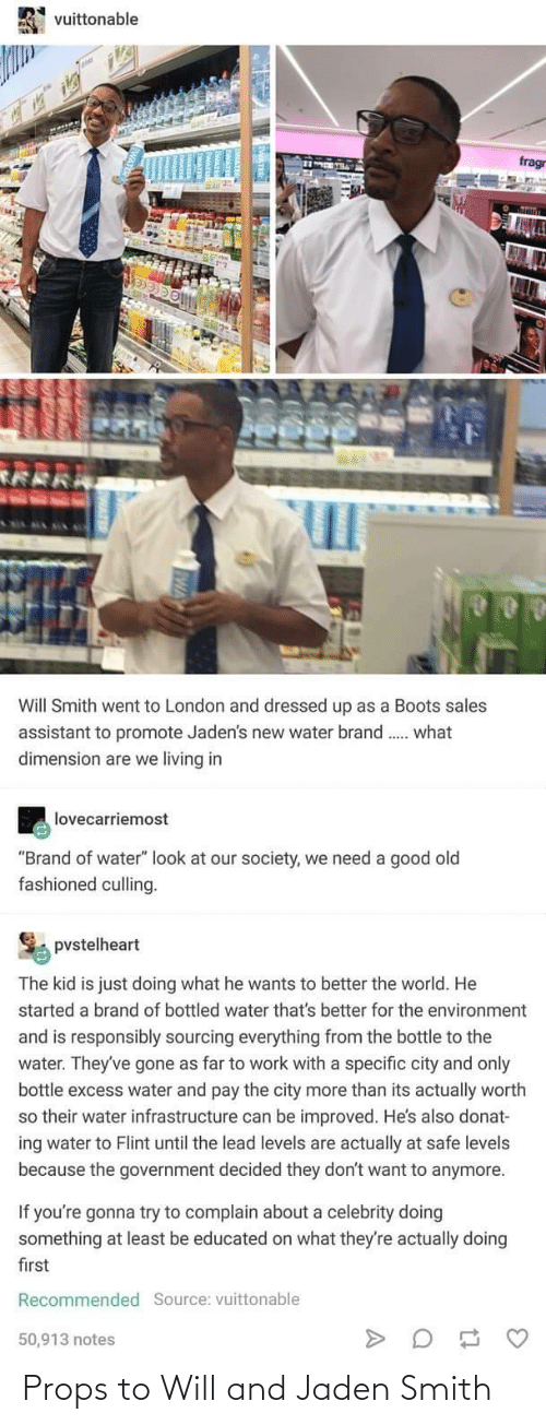 Smith: Props to Will and Jaden Smith