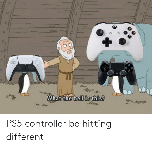 controller: PS5 controller be hitting different
