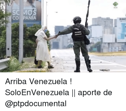 Espanol, Venezuela, and International: PT. p.  CO PANA  5  Sc Arriba Venezuela ! SoloEnVenezuela || aporte de @ptpdocumental