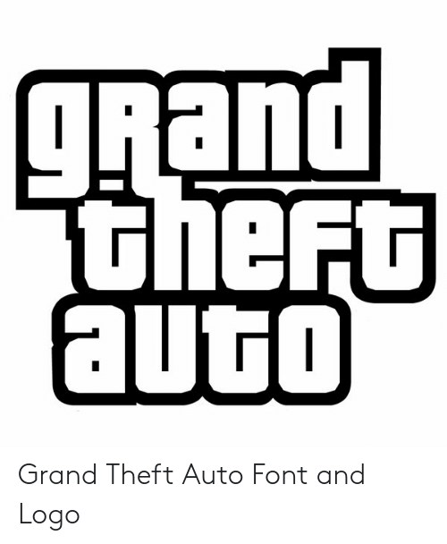 Wasted Gta: puett  theft  gRand  auto Grand Theft Auto Font and Logo