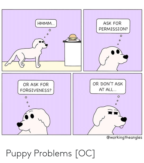 Puppy: Puppy Problems [OC]