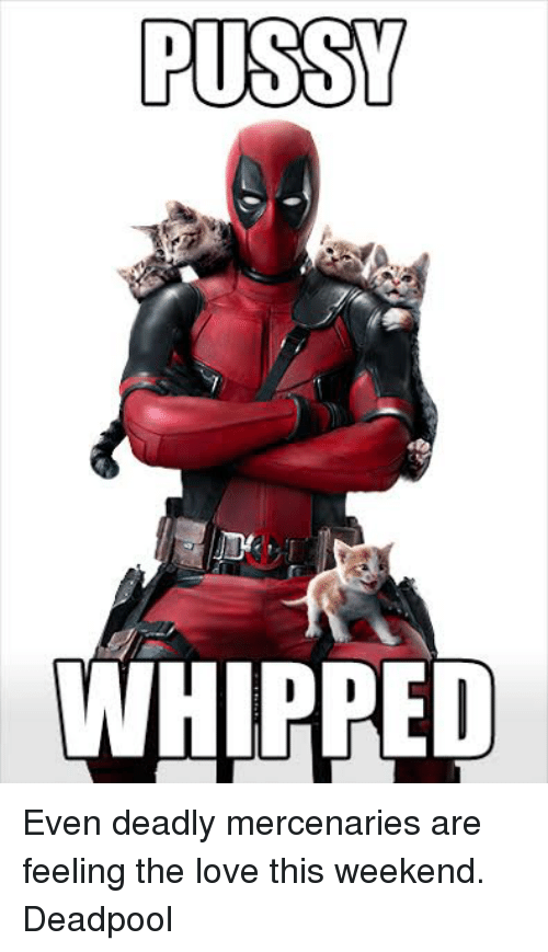 im pussy whipped