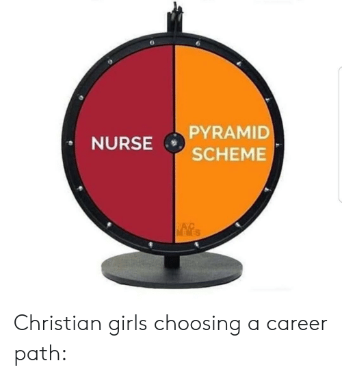 nurse: PYRAMID  NURSE  SCHEME  NAYC  MEWES Christian girls choosing a career path: