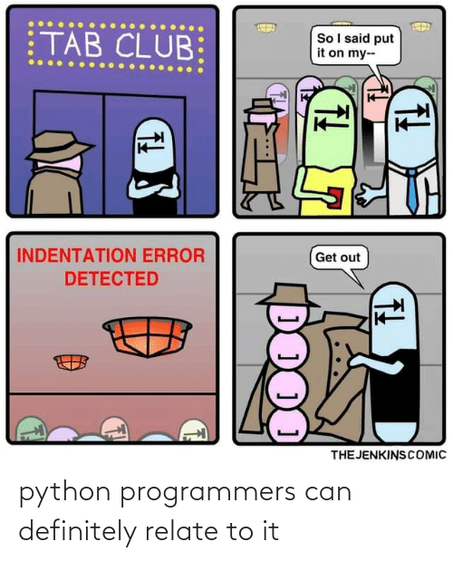 python: python programmers can definitely relate to it