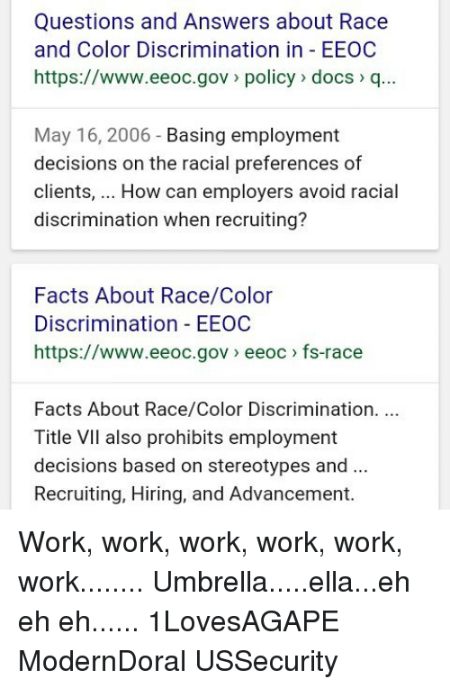 discrimination and the issue of preferential hiring Gender discrimination is when an employer treats one employee or job applicant differently than another based solely on gender, rather than job requirements or work performance gender discrimination, including discrimination in hiring practices, is illegal in the united states and can result in a lawsuit against an offending employer.