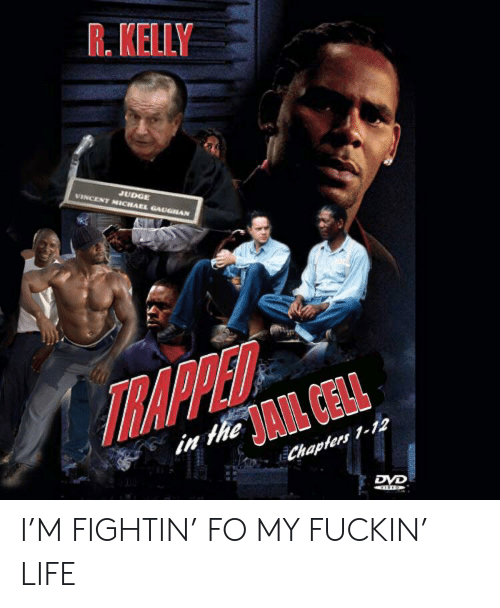 Life, R. Kelly, and Reddit: R. KELLY  JUDGE  VINCENT MICHAEL GAUGHAN  TRAPPED  in theAIL CELL  Chaplers 1-12  DVD I'M FIGHTIN' FO MY FUCKIN' LIFE