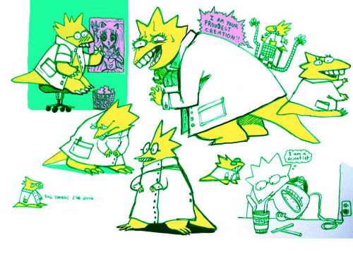 Scientist and Ion: R0V  ION!!  scientist
