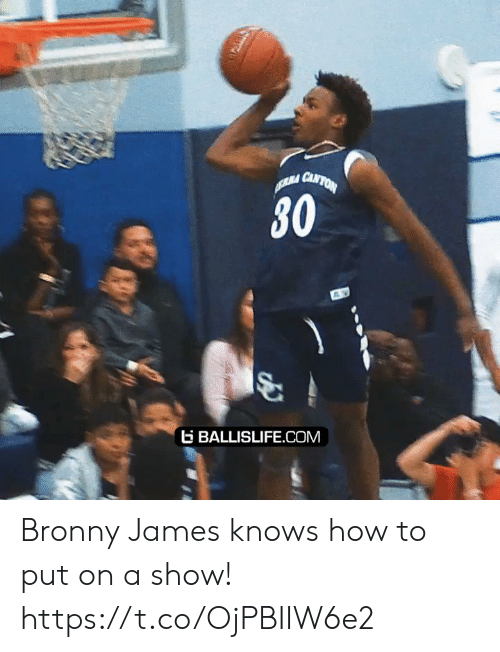 Memes, How To, and 🤖: RA CANTON  30  BALLISLIFE.COM Bronny James knows how to put on a show! https://t.co/OjPBIIW6e2