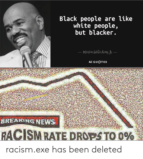 Exe: racism.exe has been deleted