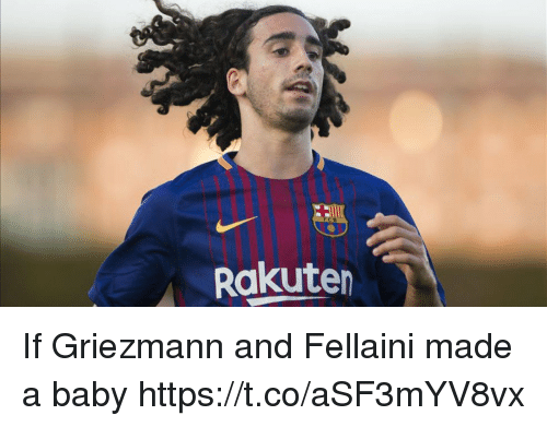 fellaini: Rakuten If Griezmann and Fellaini made a baby https://t.co/aSF3mYV8vx