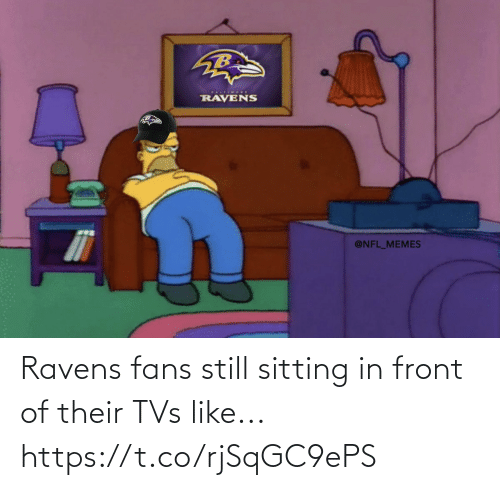 Ravens: Ravens fans still sitting in front of their TVs like... https://t.co/rjSqGC9ePS