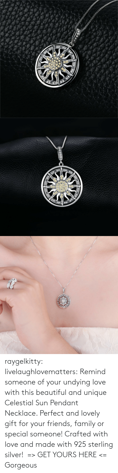 Gorgeous: raygelkitty:  livelaughlovematters: Remind someone of your undying love with this beautiful and unique Celestial Sun Pendant Necklace. Perfect and lovely gift for your friends, family or special someone! Crafted with love and made with 925 sterling silver!  => GET YOURS HERE <=    Gorgeous