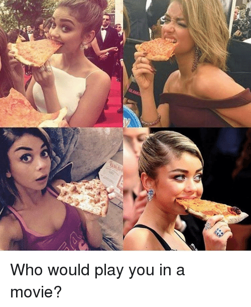 Played You: RD Who would play you in a movie?