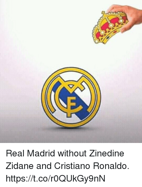 Cristiano Ronaldo, Real Madrid, and Soccer: Real Madrid without Zinedine Zidane and Cristiano Ronaldo. https://t.co/r0QUkGy9nN