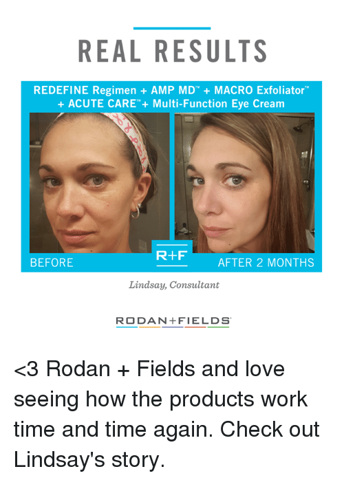 Real Results Redefine Regimen Amp Md Macro Exfoliator Acute Care