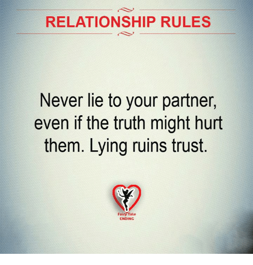 A lie 💌 you happens when what relationship in Quick Channeled
