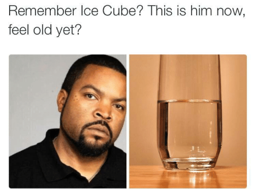 Now Feel: Remember Ice Cube? This is him now  feel old yet?