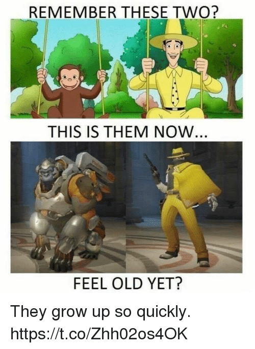 Video Games, Old, and Grow: REMEMBER THESE TWO?  THIS IS THEM NOW  FEEL OLD YET? They grow up so quickly. https://t.co/Zhh02os4OK