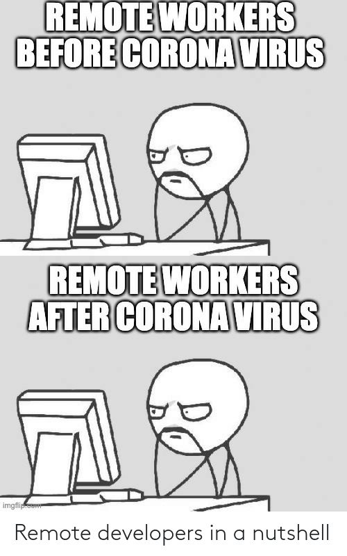 remote: Remote developers in a nutshell