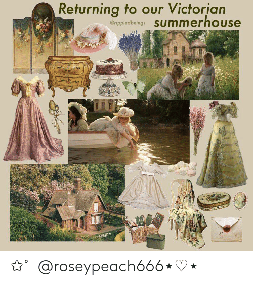 Victorian: Returning to our Victorian  erippledbeings SUmmerhouse 。✩˚。@roseypeach666⋆♡⋆。