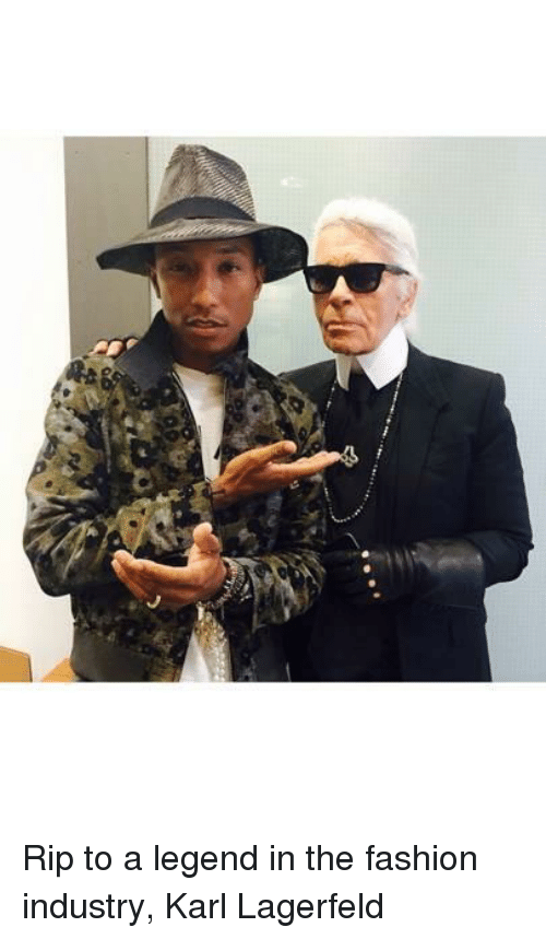 Fashion, Legend, and Karl Lagerfeld