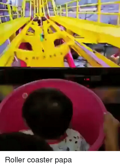 Indonesian (Language), Roller Coaster, and Papa: Roller coaster papa