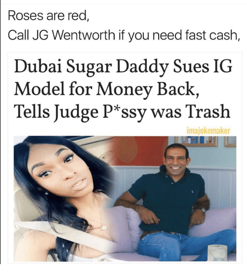 Money Trash And Sugar Roses Are Red Jg Wentworth If You Need