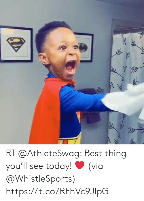 thing: RT @AthleteSwag: Best thing you'll see today! ❤️ (via @WhistleSports) https://t.co/RFhVc9JIpG