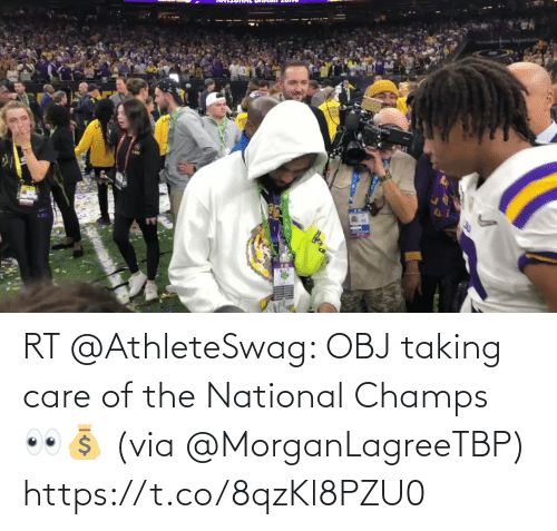 champs: RT @AthleteSwag: OBJ taking care of the National Champs 👀💰 (via @MorganLagreeTBP)  https://t.co/8qzKl8PZU0