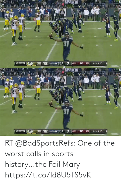 Calls: RT @BadSportsRefs: One of the worst calls in sports history...the Fail Mary https://t.co/ld8U5TS5vK