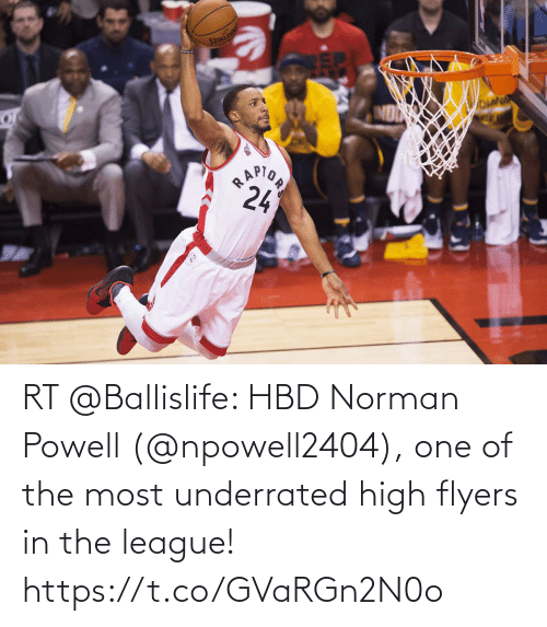 The League: RT @Ballislife: HBD Norman Powell (@npowell2404), one of the most underrated high flyers in the league! https://t.co/GVaRGn2N0o