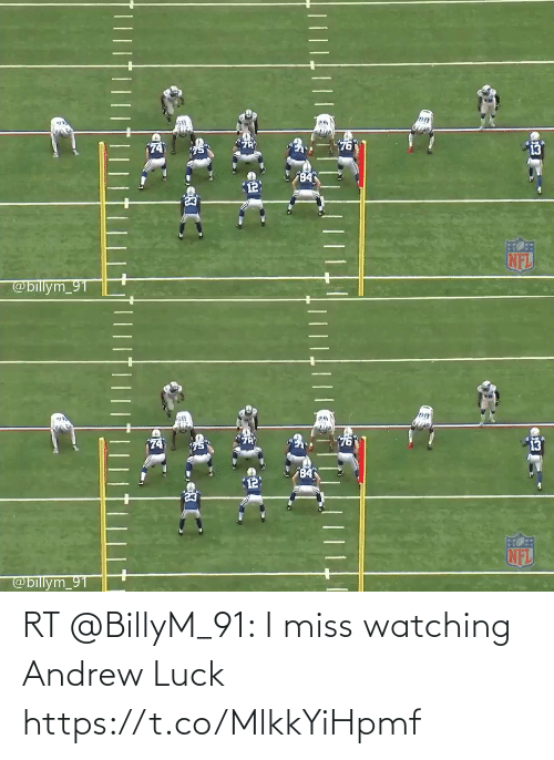 Andrew Luck: RT @BillyM_91: I miss watching Andrew Luck https://t.co/MlkkYiHpmf