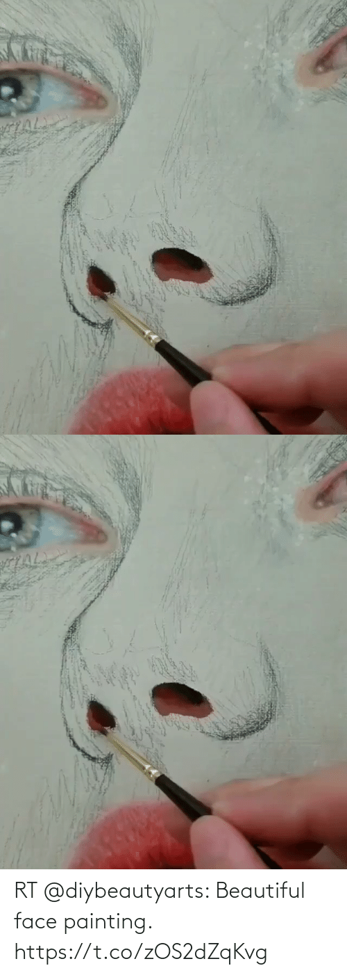 painting: RT @diybeautyarts: Beautiful face painting. https://t.co/zOS2dZqKvg