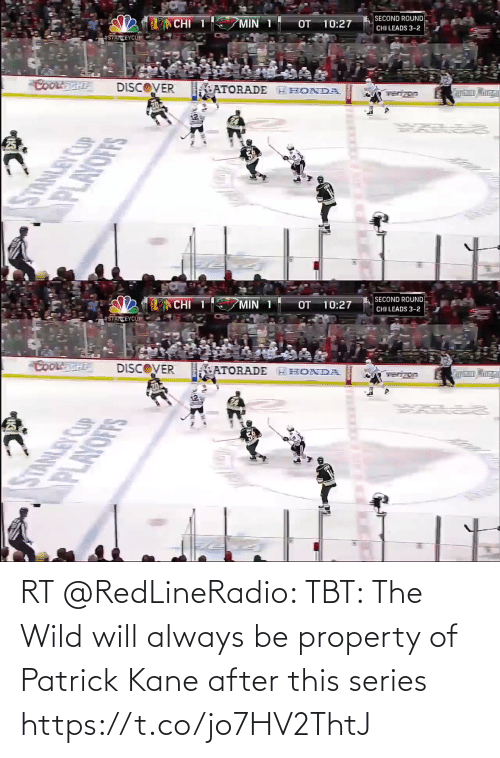 patrick: RT @RedLineRadio: TBT: The Wild will always be property of Patrick Kane after this series https://t.co/jo7HV2ThtJ